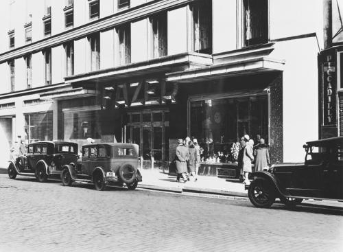 Fazerin kahvila, 1931. Roos Rafael, Copyright: Helsingin kaupunginmuseo