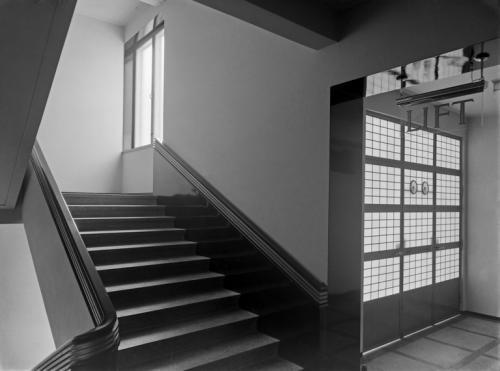 Fazerin kahvilan portaikkoa, 1930. Owesen Ernst, Copyright: Helsingin kaupunginmuseo